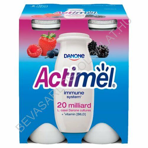 Danone Actimel Joghurtital Erdei Gyümölcs 4x100 g=400 g (#6)