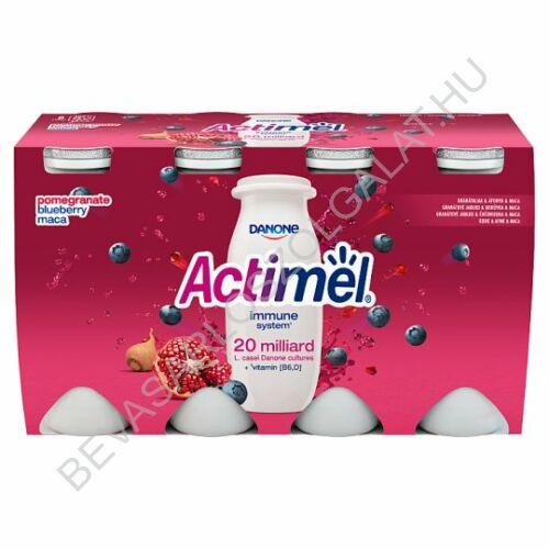 Danone Actimel Joghurtital Gránátalma & Áfonya & Maca 8x100 g=800 g (#3)