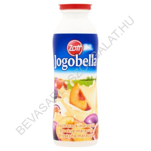 Zott Jogobella Joghurtital Őszibarack - Maracuja 250 g (#12)