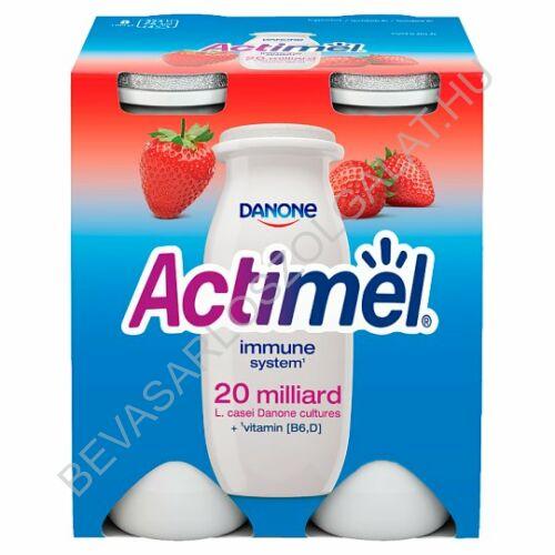 Danone Actimel Joghurtital Eper 4x100 g=400 g (#6)