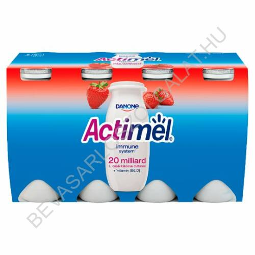 Danone Actimel Joghurtital Eper 8x100 g=800 g (#3)