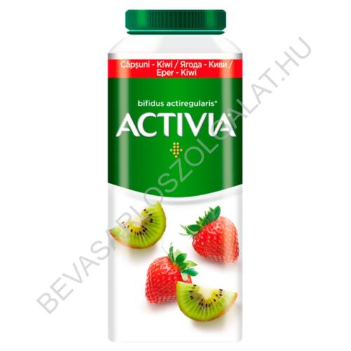 Danone Activia zsírszegény, élőflórás, eper-kiwiízű joghurtital 320 g