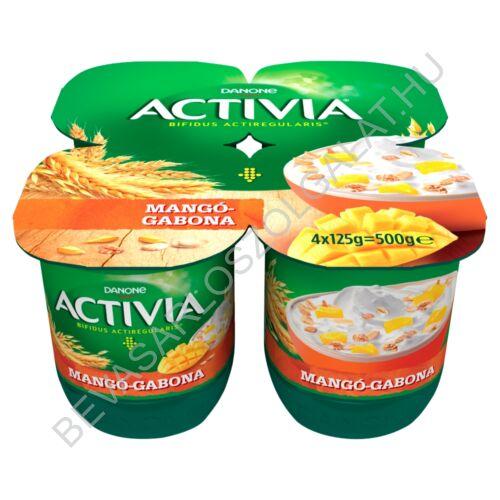 Danone Activia élőflórás, zsírszegény mangós joghurt gabonával 4x125 g=500 g (#6)