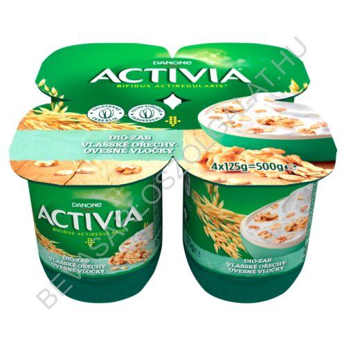 Danone Activia élőflórás édesített joghurt zabpehellyel és dióval 4x125 g=500 g (#6)