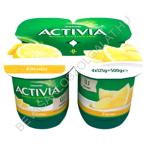 Danone Activia élőflórás citromos joghurt 4x125 g=500 g (#6)