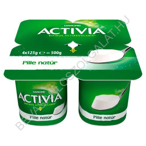 Danone Activia Pille élőflórás, natúr joghurt 4x125 g=500 g (#6)