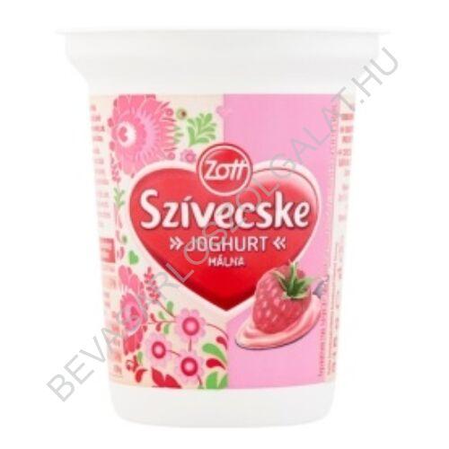Zott Szívecske Joghurt Málna 315 g (#12)
