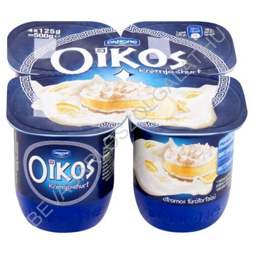 Danone Oikos Görög Krémjoghurt Citromos Túrótorta 4x125 g=500 g (#6)