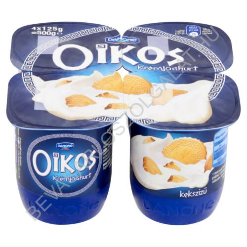Danone Oikos Görög Krémjoghurt Keksz 4x125 g=500 g (#6)