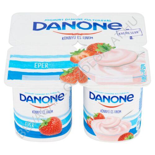 Danone Könnyű és Finom Joghurt Eper 4x125 g=500 g