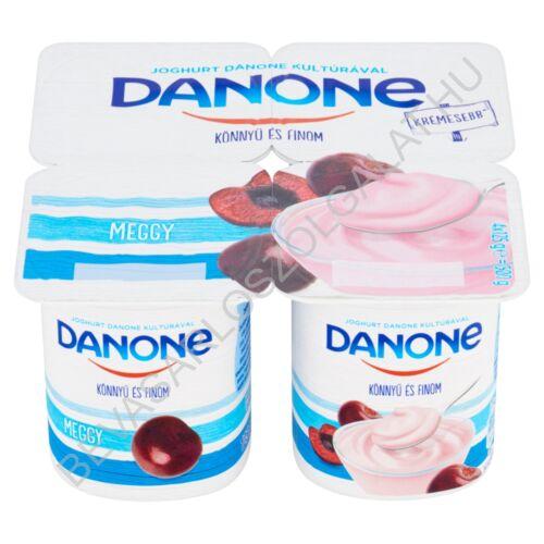 Danone Könnyű és Finom Joghurt Meggy 4x125 g=500 g