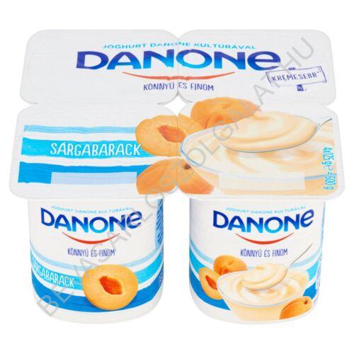 Danone Könnyű és Finom Joghurt Sárgabarack 4x125 g=500 g