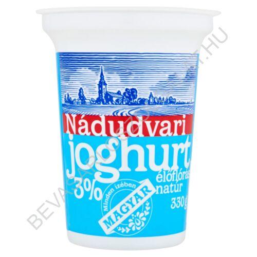 Nádudvari élőflórás natúr joghurt 330 g (#12)