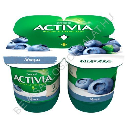 Danone Activia élőflórás áfonyás joghurt 4x125 g=500 g (#6)