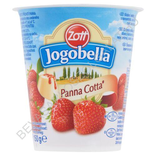 Zott Jogobella Panna Cotta Joghurt Eper 150 g (#20)