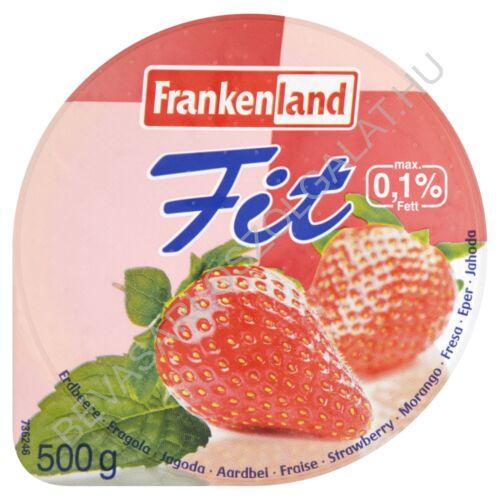 Frankenland Fit Joghurt 0,1% Eper 500 g (#12)