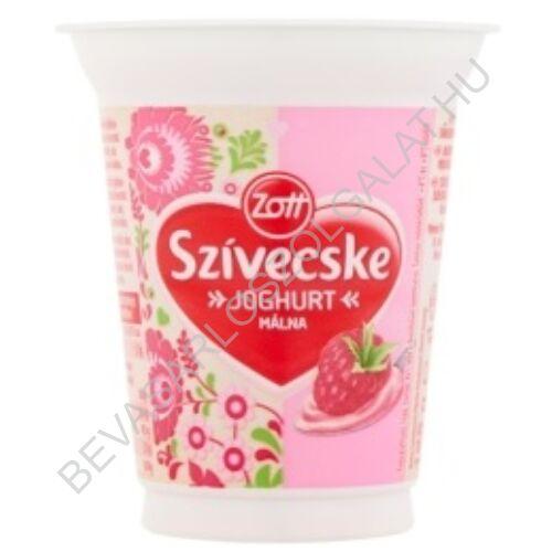Zott Szívecske Joghurt Málna 125 g (#20)