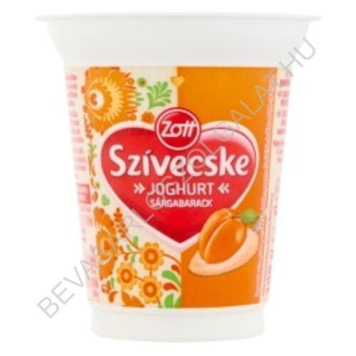 Zott Szívecske Joghurt Sárgabarack 125 g (#20)