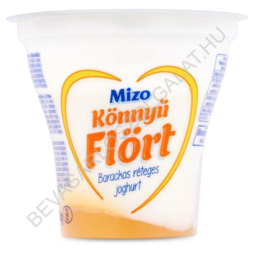 Mizo Könnyű Flört Réteges Joghurt Barackos 160 g (#12)