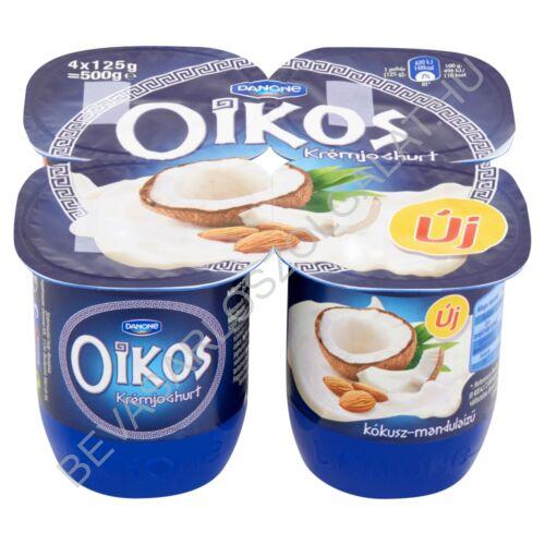 Danone Oikos Görög Krémjoghurt Kókusz - Mandula 4x125 g=500 g (#6)