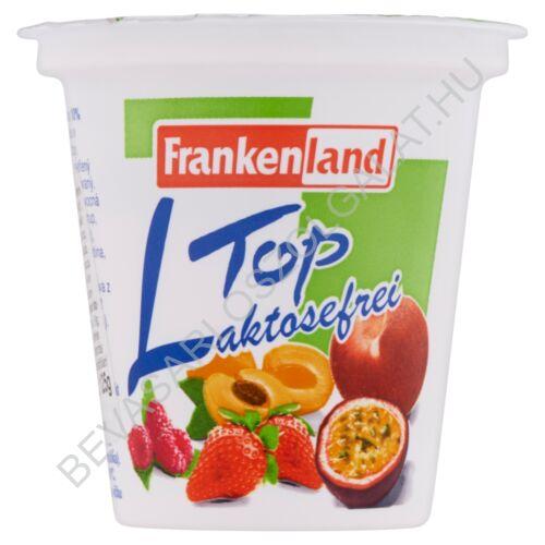 Frankenland Laktózmentes Joghurt Őszibarack - Maracuja 125 g