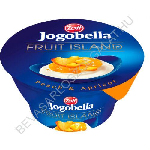 Zott Jogobella Fruit Island Joghurt Őszibarack 150 g (#12)