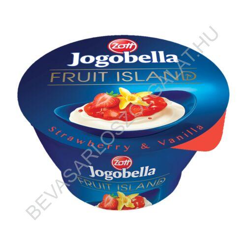 Zott Jogobella Fruit Island Joghurt Eper 150 g (#12)