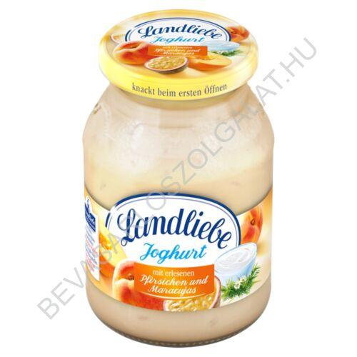 Landliebe Joghurt Őszibarack - Maracuja üveges 500 g