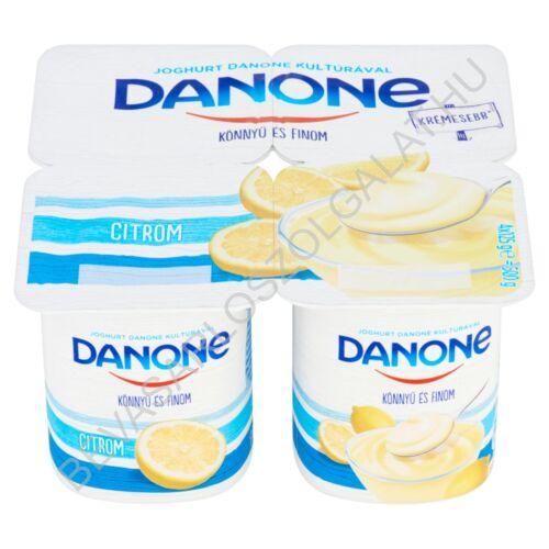 Danone Könnyű és Finom Joghurt Citrom 4x125 g=500 g