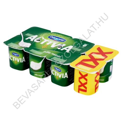 Danone Activia Pille élőflórás, natúr joghurt 8x125 g=1 kg (#3)