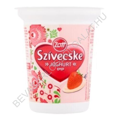 Zott Szívecske Joghurt Eper 315 g (#12)