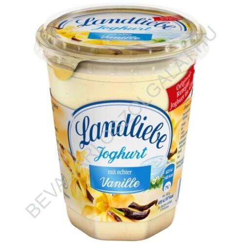 Landliebe Joghurt Vaníliás poharas 450 g