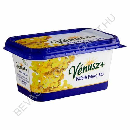 Vénusz+ Margarin Valódi Vajas, Sós 55% csészés 450 g