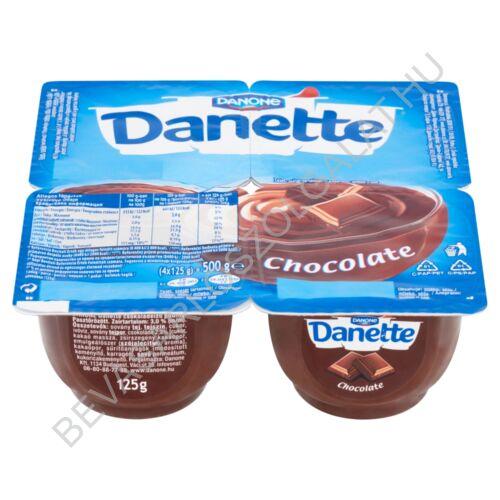 Danone Danette Puding Csokoládéízű 4x125 g