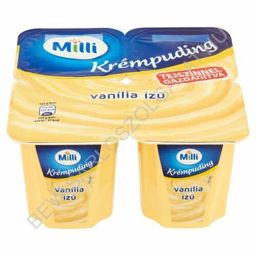 Milli Mia Puding Vaníliás 4x125 g