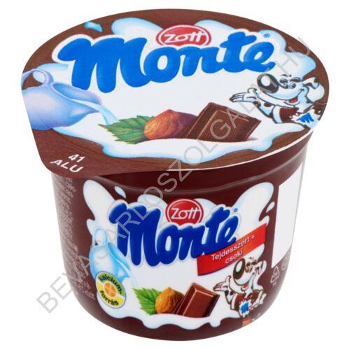 Zott Monte Csokoládés - Mogyorós Tejdesszert 100 g (#24)