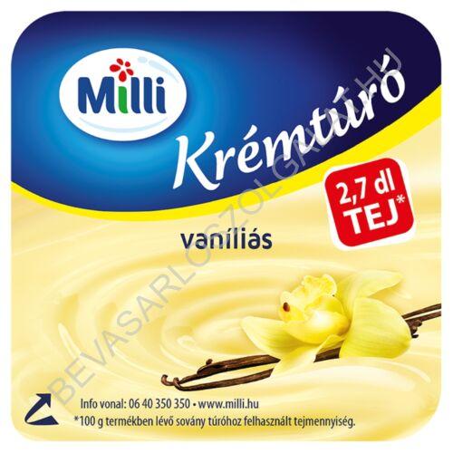 Milli Krémtúró Vaníliás 90 g (#30)