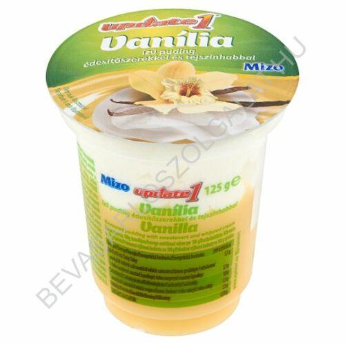 Mizo Update 1 vanília ízű puding édesítőszerekkel és tejszínhabbal 125 g (#20)