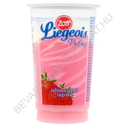 Zott Liegeois Habos Puding Eper 175 g (#24)