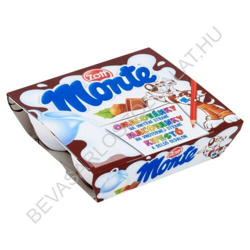Zott Monte Csokoládés - Mogyorós Tejdesszert 4x55 g=220 g