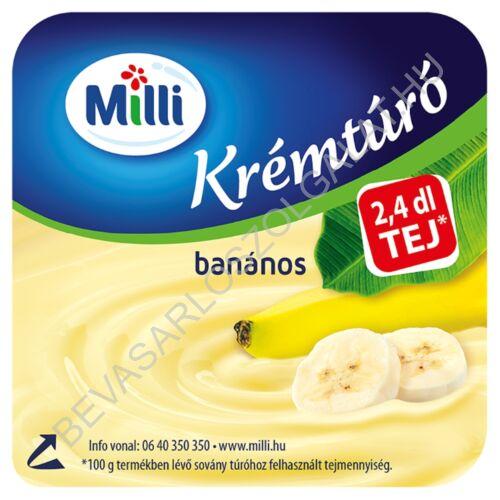 Milli Krémtúró Banános 90 g (#15)