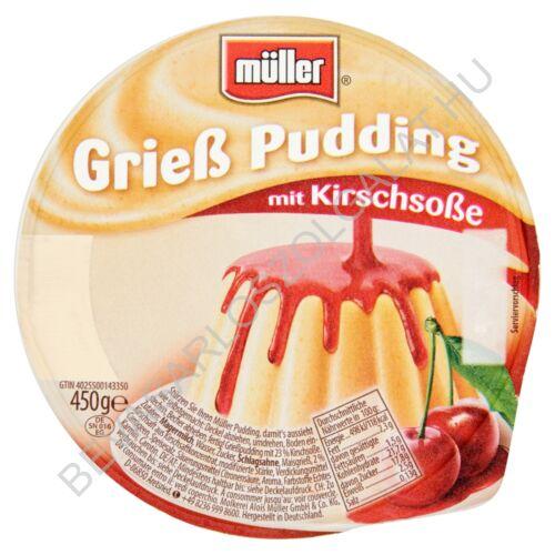 Müller Grízpuding Meggyöntettel 450 g (#6)