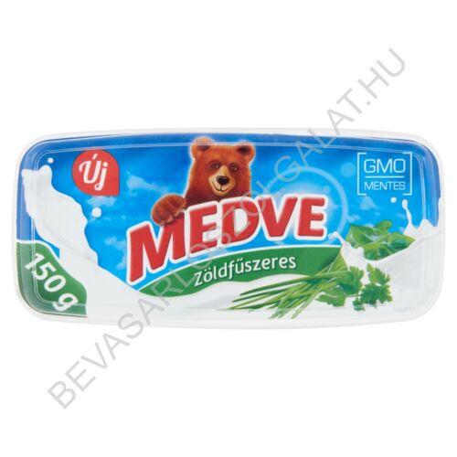 Medve Szendvicskrém Zöldfűszeres 150 g (#8)