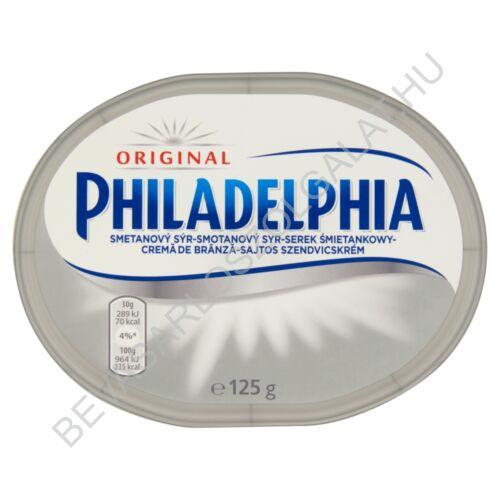 Philadelphia Sajtos Szendvicskrém Original 125 g (#12)
