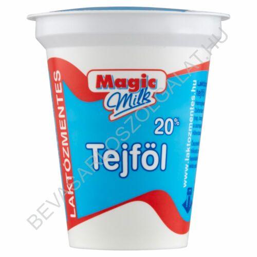 Magic Milk Laktózmentes Tejföl 20% 150 g (#20)