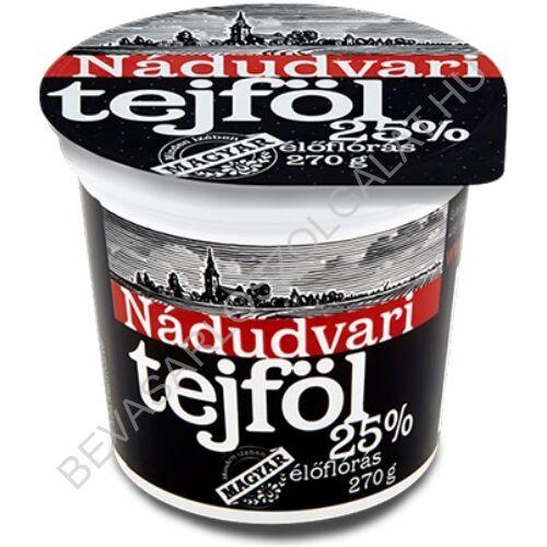 Nádudvari Tejföl 25% 270 g (#12)
