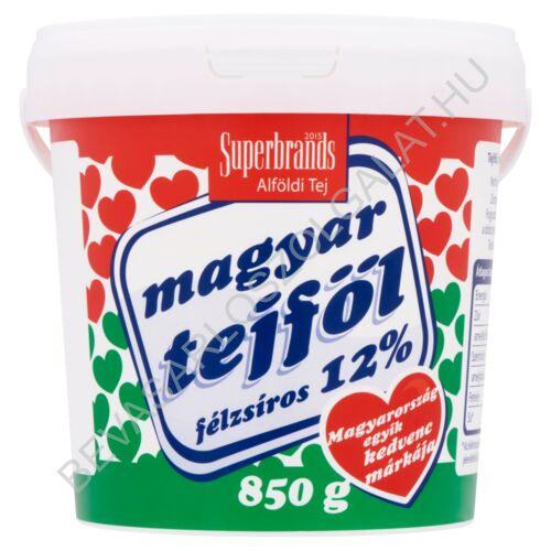 Magyar Tejföl 12% vödrös 850 g (#6)