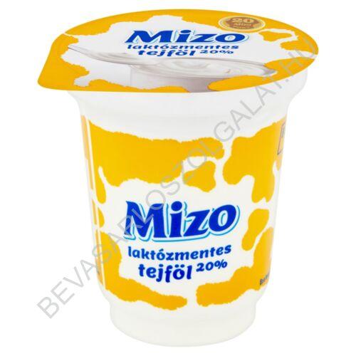 Mizo Laktózmentes Tejföl 20% 150 g (#20)