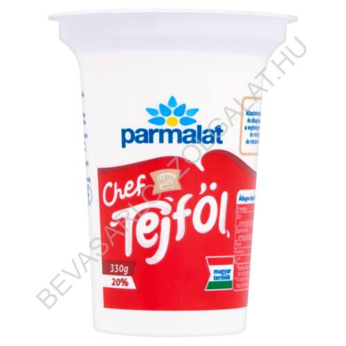 Parmalat Chef Tejföl 20% 330 g
