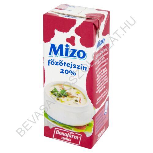 Mizo Főzőtejszín 20% UHT dobozos 200 ml (#27)